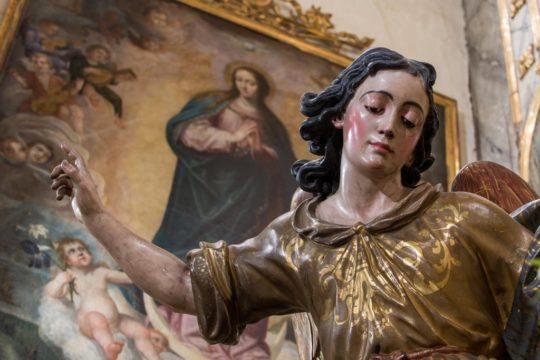 imagen del santo angel de sevilla